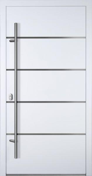 "Aluminium Haustür ""FANNIE"" 90mm RC2"