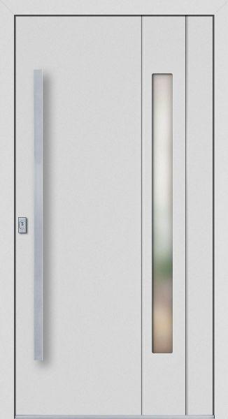 """Aluminium Haustür """"JUTTA"""" 77mm flügelüberdeckend RC2"""