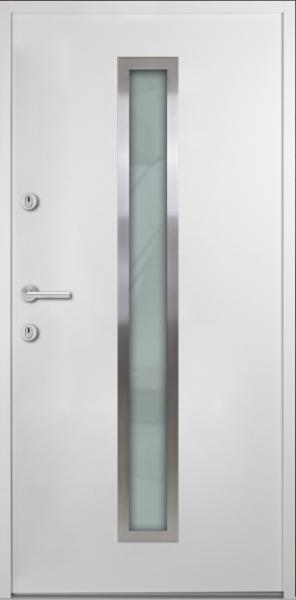 """Aluminium-Stahl Nebeneingangstür """"JAMIRA"""" 56 mm"""