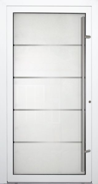 "Aluminium Glas Haustür ""ROMY"" 90mm"