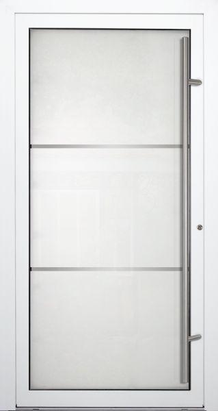 """Aluminium Glas Haustür """"LYDIA"""" 90mm"""