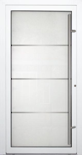 """Aluminium Glas Haustür """"EVA"""" 90mm"""