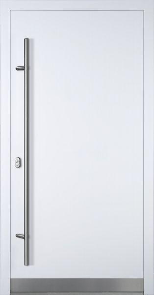 "Aluminium Haustür ""VALERIA"" 90mm (Mit Edelstahlapplikation) RC2"