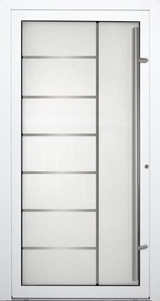 "Aluminium Glas Haustür ""VERONIKA"" 90mm"