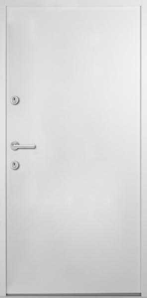 "Aluminium-Stahl Nebeneingangstür ""BELIN"" 56 mm"