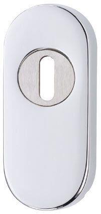 Kernziehrosette Edelstahl (Silber)