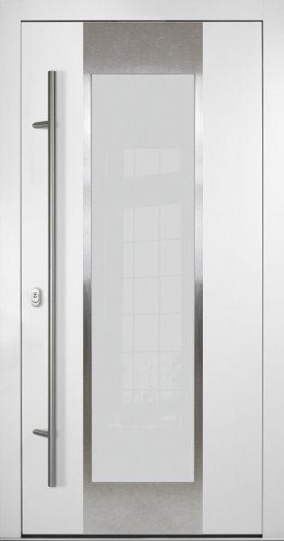 """Aluminium Haustür """"LEONIA"""" 92mm flügelüberdeckend"""